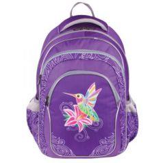 """Рюкзак ERICH KRAUSE для учениц начальной школы, """"Amazing Bird"""", 20 литров, 43х30х16 см, 42496"""