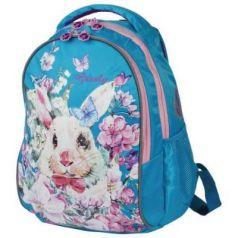 """Рюкзак GRIZZLY анатомическая спинка, для учениц начальной школы, """"Кролик"""", 12 л, 37х27х17 см, RG-868-3/3"""