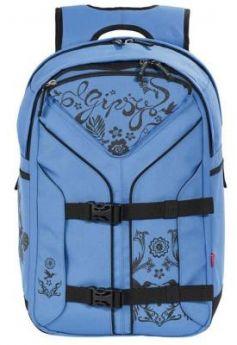Городской рюкзак с анатомической спинкой 4YOU Boomerang Джипси 30 л синий