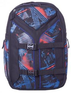 Городской рюкзак с усиленной спинкой 4YOU Boomerang Бездорожье 30 л разноцветный