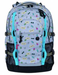 Городской рюкзак дышащая спинка 4YOU Jampac Модница 30 л разноцветный