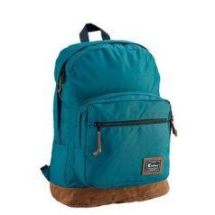 Городской рюкзак водонепроницаемый CARIBEE Retro 26 л темно-бирюзовый