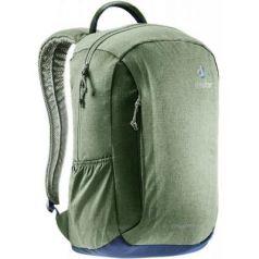 Городской рюкзак дышащая спинка Deuter VISTA SKIP 14 л хаки