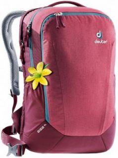 Городской рюкзак дышащая спинка Deuter GIGA SL 28 л бордовый