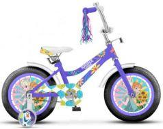 """Велосипед Disney Холодное сердце 18"""" фиолетовый ВН18105"""
