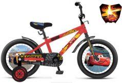 """Велосипед Disney Тачки 12"""" красный ВН12140"""