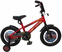 """Велосипед Disney Тачки 14"""" красный ВН14184"""