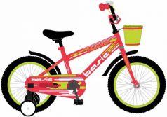 """Детский велосипед, Navigator BASIC, колеса 12"""", стальная рама, стальные обода, ножной тормоз, защитная накладка на руле и выносе, кронштейн заднего ка"""