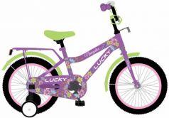 """Детский велосипед, Navigator LUCKY, колеса 12"""", стальная рама, стальные обода, ножной тормоз, защитная накладка на руле и выносе, , мягкие TPR грипсы,"""