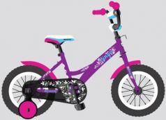 """Детский велосипед, Navigator BINGO, колеса 12"""", стальная рама, стальные обода, ножной тормоз, защитная накладка на руле и выносе, кронштейн заднего ка"""
