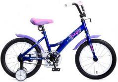 """Велосипед Navigator Bingo 16"""" сине-розовый ВМ16136"""