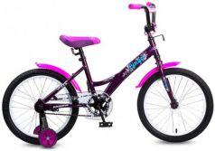 """Велосипед Navigator Bingo 18"""" черно-розовый ВМ18099"""