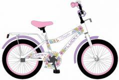 """Детский велосипед, Navigator LUCKY, колеса 20"""", стальная рама, стальные обода, ножной тормоз, защитная накладка на руле и выносе, , мягкие TPR грипсы,"""