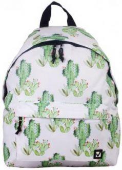 """Рюкзак BRAUBERG универсальный, сити-формат, белый, """"Мексика"""", 20 литров, 41х32х14 см, 226416"""