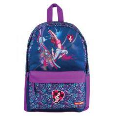 """Школьный рюкзак ручка для переноски ПИФАГОР """"Дэнс"""" 16 л фиолетовый"""