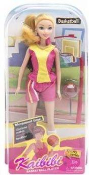 """Кукла """"Баскетболистка"""", в/к 16*32,5*6,3 см"""