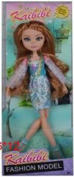 Кукла с аксессуарами, шарнирные руки и ноги, в/к 31*6*12 см