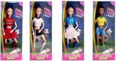 Кукла спортсменка в ассортименте, шарнирные руки и ноги, в/к 12*33*5 см