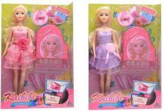Кукла, в наборе пианино, цвета в ассорт., звук, в/к 22*6*32,5 см