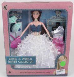 Кукла с аксессуарами и сменным платьем, в/к 28,5*7*33