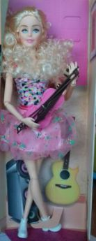 Кукла со скрипкой, в/к 12*6,5*33 см