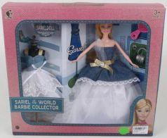 Кукла со сменным платьем, в/к 36,5*7*33 см