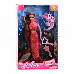 Кукла Defa Кукла- русалка 29 см светящаяся