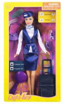 Кукла Defa Кукла-стюардеса 30 см гнущиеся