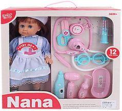 Кукла с набором доктора, в/к 38,5*10,5*38