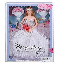 Кукла Барби Кукла в бальном платье гнущиеся