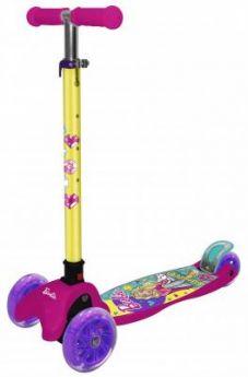 Самокат Barbie (Mattel) Т14759 120/80 мм разноцветный