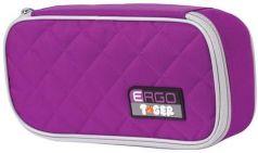 Пенал TIGER FAMILY (ТАЙГЕР) фиолетовый, 1 отделение, откидная планка, 23х7х11 см, 1744D
