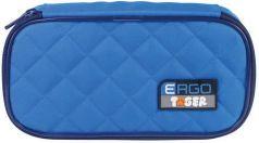 Пенал TIGER FAMILY (ТАЙГЕР), 1 отделение, раскладная откидная планка, голубой, 23x7x11 см, 227011