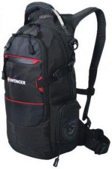 """Рюкзак туристический дышащая спинка WENGER """"Narrow Hiking Pack"""" 22 л черный"""