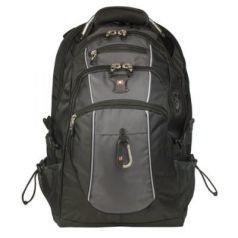 Рюкзак с отделением для ноутбука WENGER Рюкзак универсальный 38 л серый черный
