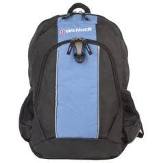 Рюкзак ручка для переноски WENGER Рюкзак универсальный 20 л черный голубой