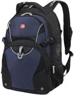 Рюкзак WENGER, универсальный, черно-синий, 32 л, 36х19х47 см, 3263203410
