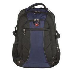Городской рюкзак дышащая спинка WENGER универсальный 32 л сине-черный