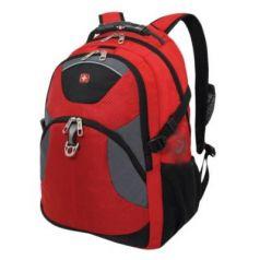 Городской рюкзак с отделением для ноутбука WENGER универсальный 26 л красный черный