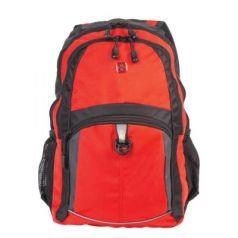 Городской рюкзак дышащая спинка WENGER универсальный 22 л оранжевый черный