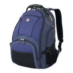 Рюкзак водонепроницаемый WENGER универсальный 29 л сине-черный