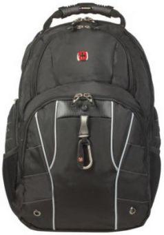 Рюкзак WENGER, универсальный, черный, функция ScanSmart, 29 л, 34х18х47 см, 6939204408