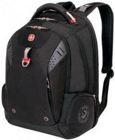 Рюкзак WENGER, универсальный, черный, функция ScanSmart, 34 л, 46х34х24 см, 5902201416