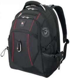 Рюкзак с отделением для ноутбука WENGER функция ScanSmart 35 л черный