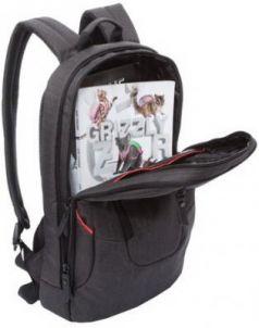 Рюкзак GRIZZLY универсальный, с отделением для ноутбука, черный, 28х44х16 см, RU-820-1/3