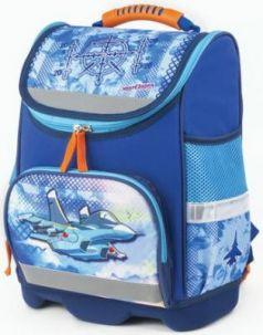 Ранец Юнландия для начальной школы, Самолет, 37х29х15 см