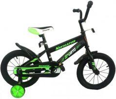 """Велосипед Navigator Sports 14"""" черно-зеленый ВН14200"""