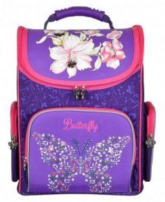 Ранец ручка для переноски Silwerhof Butterfly фиолетовый малиновый