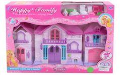 Домик для кукол Наша Игрушка Счастливая семья