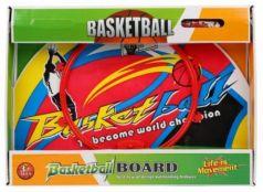 Набор для игры в баскетбол Наша Игрушка Набор для игры в баскетбол 5 предметов